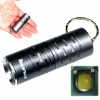 ALETO KL044H Cree XM-L T6 1-LED 700lm 3-Mode White Light Flashlight w/ Keychain - Grey (1 x 16340)