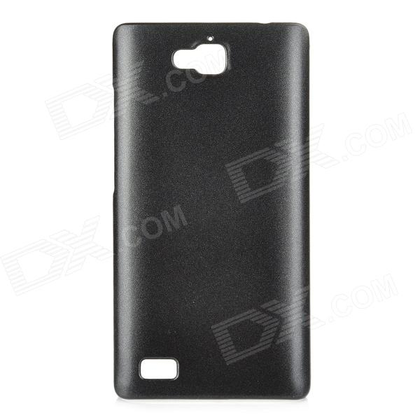 Protective Plastic Back Case for Huawei Honor 3C - Black