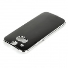 Sunshine Protective Aluminum Alloy Back Case for HTC ONE 2 / M8 - Black