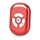 TY-001 Wireless Bluetooth V3.0 Selfie Camera Remote Shutter for IPHONE + More - Claret Red