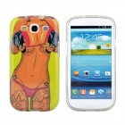 Hot Sexy Bikini Girl Pattern Protective TPU Case for Samsung Galaxy S3 i9300