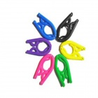 Travel Colorful Simple Folding Clothes Hanger Rack (6 PCS)
