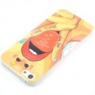 Sexy Girl Protective Plastic Hard Back Case for IPHONE 5 / 5S - Red + Dark Yellow
