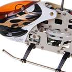 USB Rechargeable 3-CH Palm-Size Mini R/C Helicopter Set - Black