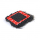 BMGP133 Artificial Fur Microphone Windscreen for GoPro - Black