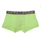 Men's Super Soft Modal Bamboo Fiber Breathable Boxers Underpants - Green (2 PCS / XXXL)