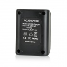 1A 5V Sports Video Camera Battery Charging Dock for SJ4000 - Black