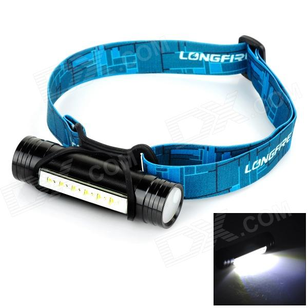 FANDYFIRE L811 3W 100lm 6-LED 3-Mode Cool White Light Headlamp - Black (3.6~4.5V)