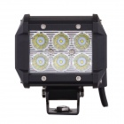 MZ 18W 1440lm Flood Work Light Bar pro Off-road auta, SUV, lodí (2ks)