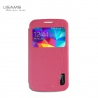 USAMS PU + PC Leather case for Samsung S5 ZOOM C1158 Merry Series - Pink