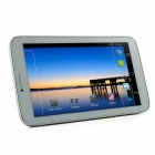 "AMPE A71 3G 7 ""Dual Core Android 4.2 Tablet PC w / 512M de RAM, 8 Go de ROM, Wi-Fi, GPS, appareils-photo duels-Blanc"
