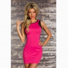 Fashion Package- hip Dress per Lady - Rosso + Nero ( formato libero )