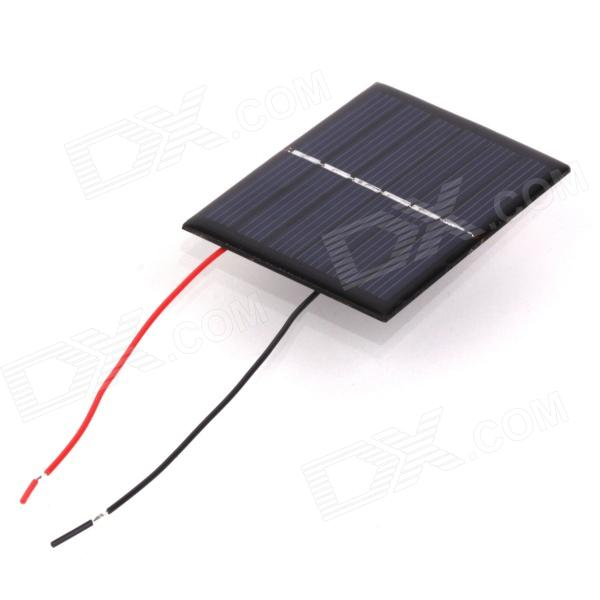 ZnDiy-BRY BL85-55 0.48W 3V 160mA Solar Panel - Black (85 x 55mm)