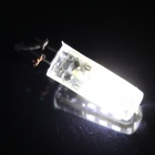 G9 3W 180lm 64-SMD 3014 LED Bluish White Light Corn Bulb (AC 220V)