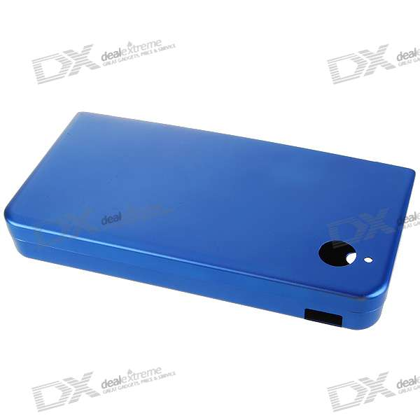Protective Aluminum Case for DSi LL (Blue)
