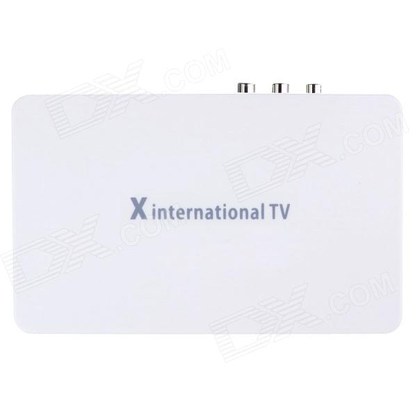 Satellite TV Receiver X International TV Box Set-top Box / TV Receiver Set w/ Remote Controller international policy coordination and national program implementation