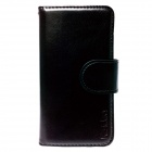 Genuine Ks idea CA-I5SDLBK Standing Diary Leather Case for iPhone 5 - Black [Made in Korea]