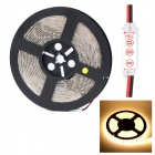 HML Waterproof 72W 5000lm 3300K 300 x SMD 5630 LED Warm White Light Strip w/ HML Mini Controller