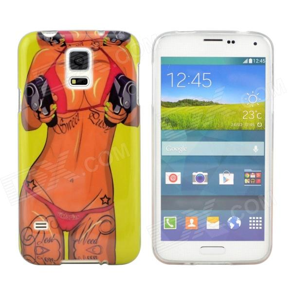 Hot Sexy Girl Pattern Protective TPU Case for Samsung Galaxy S5
