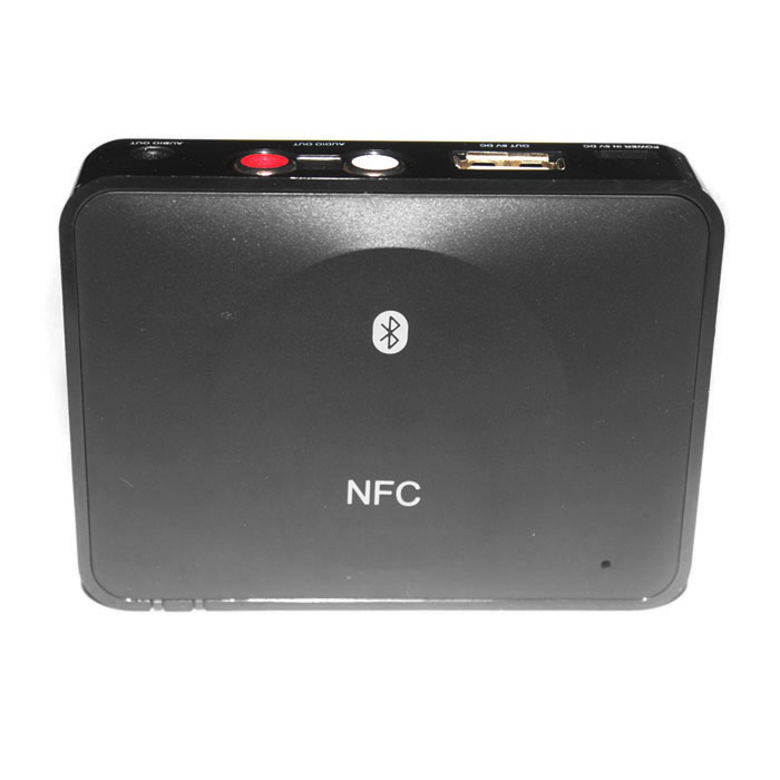 SEENDA IBT-08 NFC Bluetooth V3.0 Desktop Audio Receiver - Black
