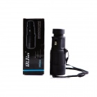 BIJIA10X 42mm Nitrogen Water Resistant HD High-powered Scope Monocular Telescope - Black