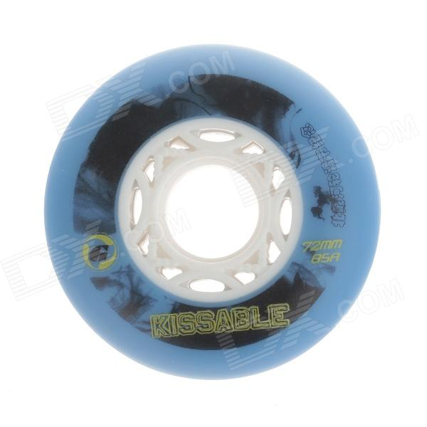 Outdoor Sports 72mm Roller Skates Brake Wheel - Blue+ Black + Multicolored for honda cb600f cb900f hornet cb1000r motorcycle upgrade front brake system radial brake master cylinder