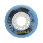 Outdoor Sports 72mm Roller Skates Brake Wheel - Blue+  Black + Multicolored