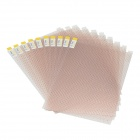 "DIY Universal Gold Diamond Effect Protective Film for 9.0"" Screen Tablet PC - (10 PCS)"
