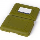 ORICO PHX-35 3.5 '' HDD Protection Box Hard Disk Drive Protecter Case - Olive Green