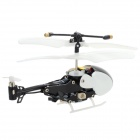 Tianxiang 9059 Mini 3.5-CH Indoor IR Remote Helicopter - White + Black (6 x AA)