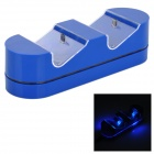Dual Charging Dock w/ Indicator for PS4 Wireless Controller - Blue