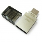 KINGMAX PJ-02 USB 2.0 Flash Drive + OTG (16GB)