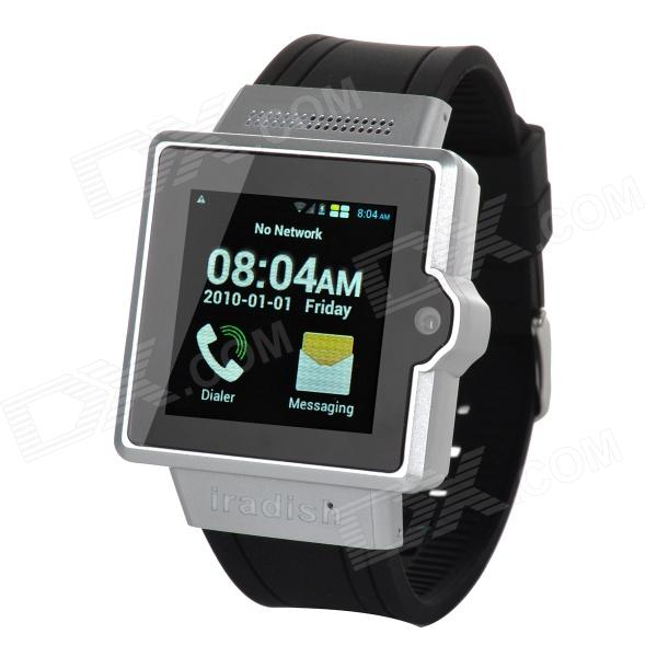 Iradish i6 Dual-core Android 4.0 GSM Watch Phone w/ 1.54