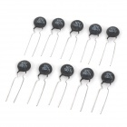 NTC 5D-11 Copper + Manganese Thermistors - Black (10 PCS)