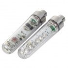 INFORMYI LC-D400A Vibration Sensor Blue LED Light Tire Wheel Valve Cap Light (2PCS / 3 x AG10)
