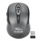 R.horse RF-6100B LED 2.4G Wireless Gaming Mouse w / USB 2.0 Receiver - Schwarz (2 x AAA)