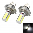 Marsing C-01 H4 20W 1500lm 4-COB LED White Light Car Headlamp / Foglight - (12V / 2 PCS)