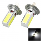 Marsing C-02 H7 20W 1500lm 4-COB LED White Light Car Headlamp / Foglight - (12V / 2 PCS)