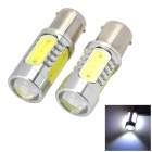 Marsing 1156 7,5 W 1500lm 6500K 4-COB-LED White Light Car Scheinwerfer / Nebelscheinwerfer - (12V / 2 PCS)
