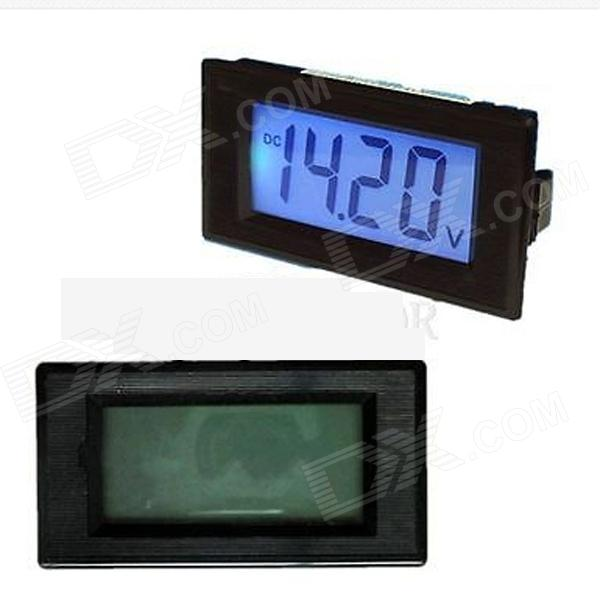 Tai Shen TS-303L Blue 3 1/2 LCD Digital Panel Voltmeter (7.5~20V)