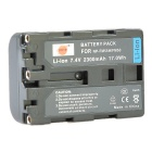 DSTE NP-FM50 / FM55H Battery + Charger for Sony F717 F828 S85 300K 3028 418E 96K D1000 Camera