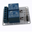 Tai Shen TS-SDR 5V 2-Channel Relay Expansion Module for DSP / AVR / MCU / ARM - White