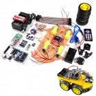 "RT0006 Bluetooth Controlled Robot Car Kits for Arduino (With 2.6"" 1602 LCD Display)"