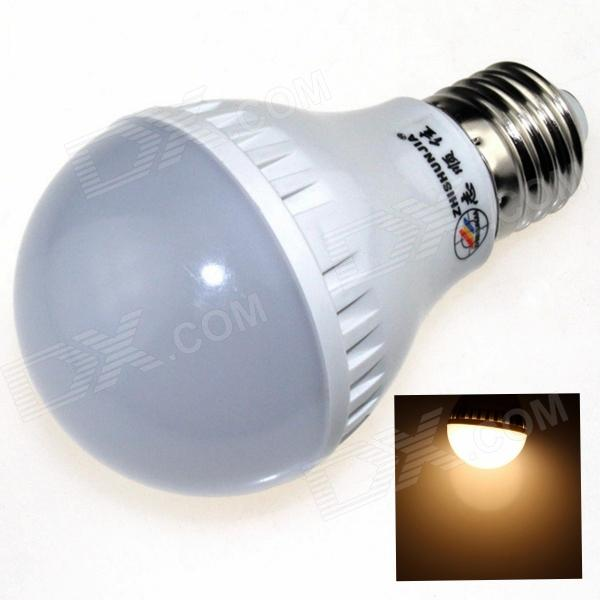 ZHISHUNJIA E27 7W 580lm 3000K 21-SMD 2835 LED Warm White Light Bulb (85~265V)