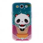 Kinston Lovely Panda Pattern Hard Case for Samsung Galaxy S3 i9300 - Green
