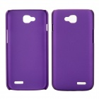 EPGATE Matte Snap-On Glossy Slim Case Cover for LG Optimus L90 D410 D405 - Purple