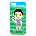 ROCK Italy World Cup Style Protective TPU Back Case for IPHONE 5 / 5S - Green + Multicolored