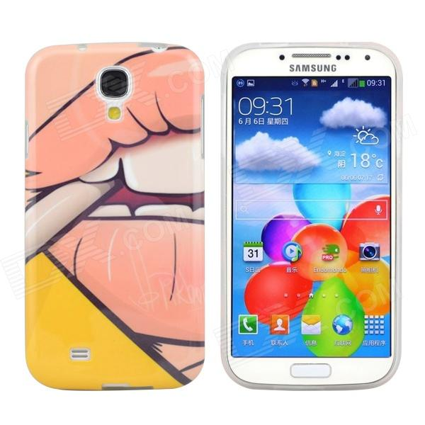 где купить Hot Sexy Smoking Girl Pattern Protective TPU Case for Samsung Galaxy S4 i9500 дешево