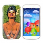 Hot Sexy Smoking Girl Pattern Protective TPU Case for Samsung Galaxy S4 i9500