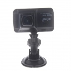"DYXC D-101 3.0"" TFT 12.0 MP WDR HD 1080P CMOS Wide Angle Car DVR Camcorder w/ G-sensor - Black"